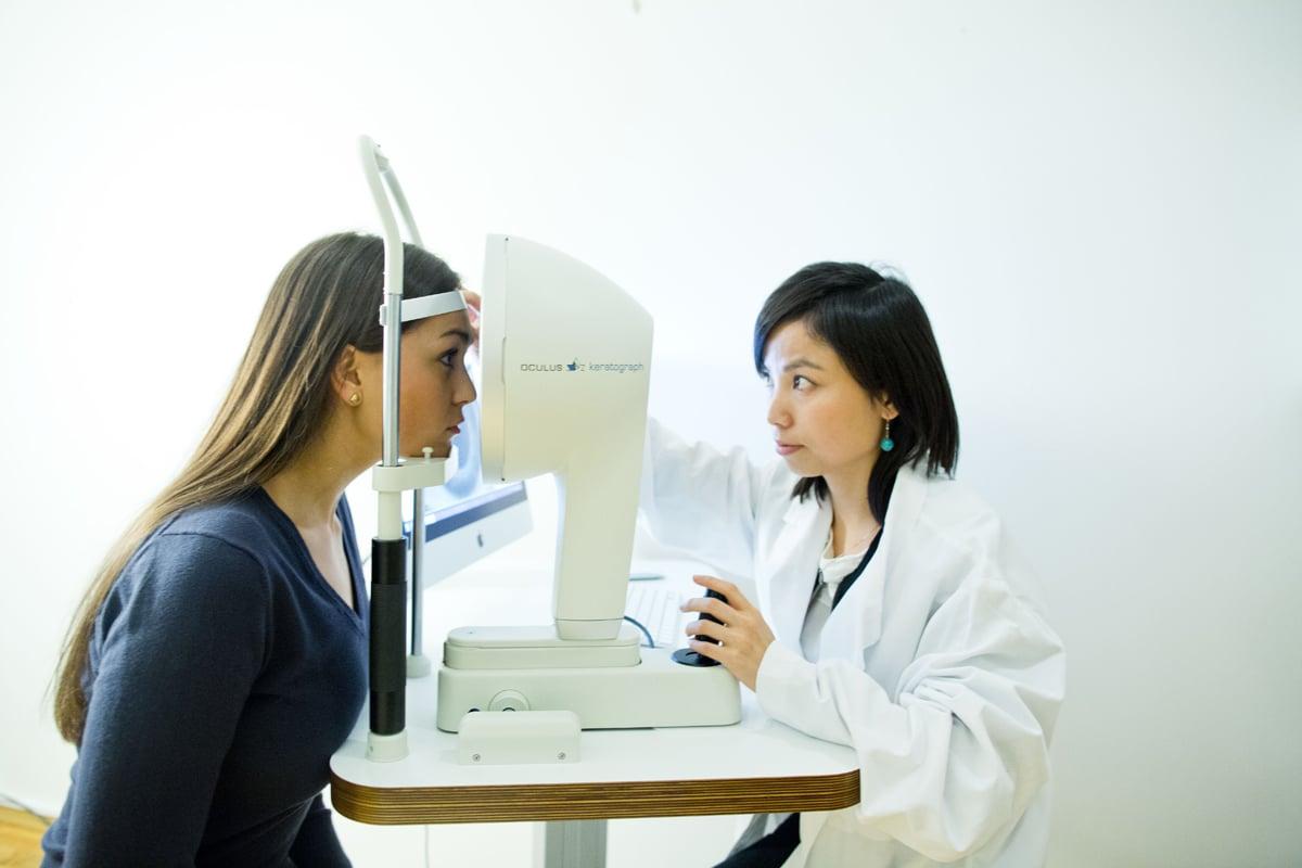 meibografi, tørre øyne, diagnostikk av tørre øyne