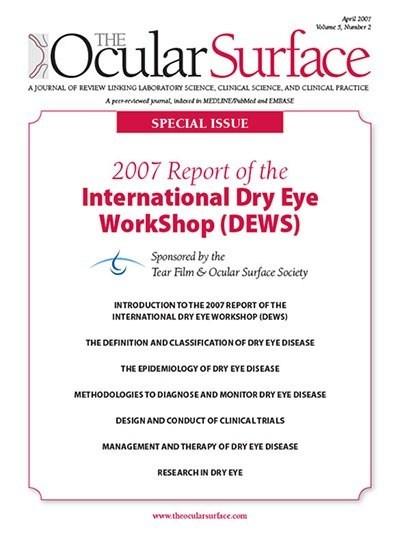 tørre øyne, retningslinjer innen tørre øyne diagnostikk og behandling