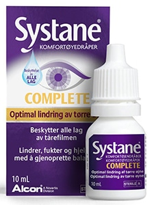 Tørre øyne, Systane Complete